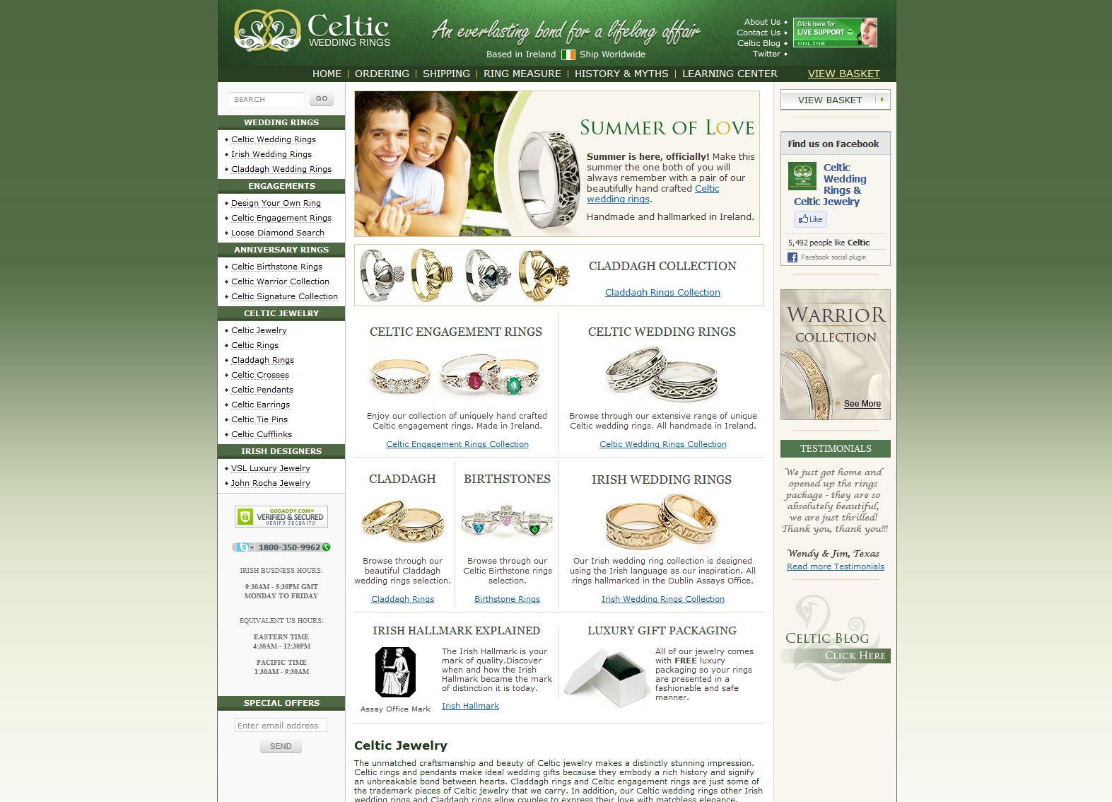 Celtic-WeddingRings.com